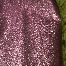 """Fall Costume Brocades Polyester Metallic Pink Sparkle Fabric BTY x 44""""w"""