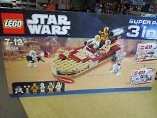 LEGO 66368 star wars super pack 3 en 1 set 8092 + 8083 + 8084 + BA + OVP