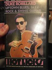 HOT LICKS VHS Duke Robillard Uptown Blues, Jazz, Rock and Swing Guitar