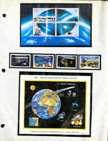 Worldwide Halley's Comet Mint NH Stamp Collection