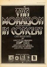 Van Morrison 1973 UK Rainbow Theatre tour/advert MM-UGCX
