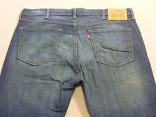 037 MENS EX-COND LEVI'S 510 SLIM FIT RICH BLUE STRETCH JEANS 38 / -- L $140 RRP.
