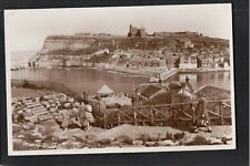 L@@K  East Cliff Whitby 1958 RP Postcard ~ NICE IMAGE