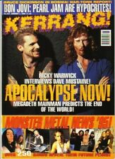 Ricky Warwick & Dave Mustaine on Kerrang Cover 1995   Metallica  Nine Inch Nails