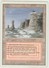 Revised Edition  MTG  Plateau   Magic Dual Land