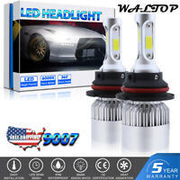 9007 HB5 LED Headlight Bulb 1400W 210000LM Kit High Low Beam Upgrade 6000K White
