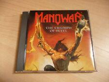CD Manowar - The triumph of steel - 1992