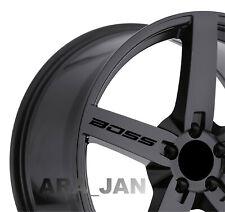 BOSS Wheels Vinyl Decal Sticker racing Sport car rims emblem motorsport logo 4pc