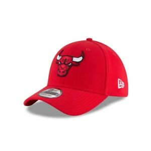 Chicago Bulls New Era 39THIRTY NBA Team Classic Stretch Fit Flex Cap Red Hat