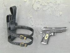 1/6 scale toy The Expendables 2 - Barney Ross - 1911 Pistol w/Holster (Right)