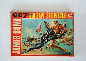 James Bond 007 1965 Arrow Thunderball 375 piece Jigsaw (not complete)