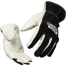 Lincoln Electric Welders Leather Drivers Gloves Large