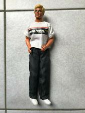 Ken in Benetton racing shirt (Barbie Mattel)