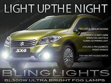 2014 2015 Suzuki SX4 Xenon Halogen Fog Lamps Driving Lights Kit + Harness Switch