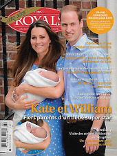 Royals Magazine Kate Middleton Prince William And George Queen Elizabeth 2013
