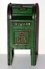 Cast Iron Hubley U.S. Air Mail Box Bank