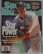 Randy Johnson Sports Illustrated Magazine August 1998 No Label! Newsstand