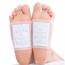 Detox Foot Patches Pads Body Toxins Feet Slimming Cleansing Herbal Adhesive