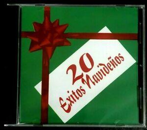 20 EXITOS NAVIDEÑOS - EL TOPO, TONY CROATTO, DON CHUITO, LA TUNA DE CAYEY - CD