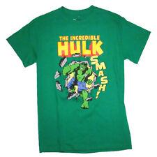 The Incredible Hulk Smash Marvel Comics Mens Tee