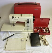 Bernina Record 830 Sewing Machine, Case And Accessories - Works Perfect