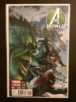 Avengers Worlds #2 1:75 Variant 2014 Marvel Comic Book Hulk