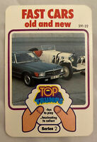 Top Trumps Fast Cars Old and New Series 2 Vintage Card Game VGC Dubreq 591-22