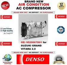 DENSO New Air Condition AC Compressore OE: 9520067D01 per SUZUKI GRAND VITARA 2.0