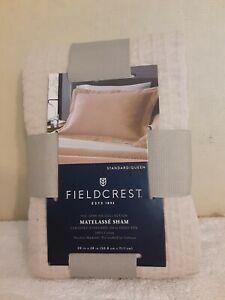 Fieldcrest Matelasse Sham 100% Cotton