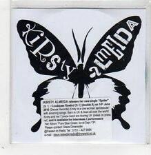 (GB504) Kirsty Almeida, Spider - 2010 DJ CD