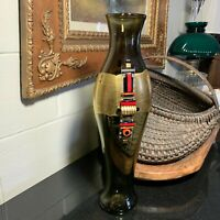 DAVID GARCIA Hand Blown Studio Art Glass Vase Acrylic Embellishment Signed Dated