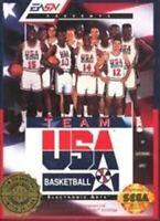 Team USA Basketball - Original Sega Genesis Game