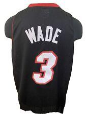 Authentic NBA Reebok Miami Heat DWYANE WADE Sewn Stitched Jersey Sz XL Swingman