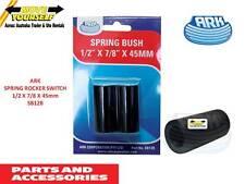 SB12B ARK SPRING ROCKER BUSH PAIR 1/2 X 7/8 X 45MM BOAT TRAILER CARAVAN TRUCK
