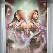 Final Fantasy X-2 Fabric Hanging store display Yuna 32 X 42 Inches