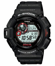 Casio Men's G-Shock G-9300-1 Mudman Shock Resistant MultiFunction Watch