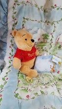classic pooh bear/crib bedding/vintage /plush/ disney store/ baby shower gift