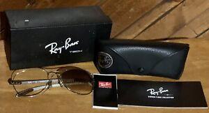 RAY-BAN RB8301 004/51 Sunglasses Frame Aviator 59-14mm Carbontech Aviator MX51