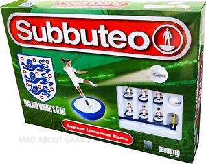 WOMEN'S FOOTBALL SUBBUTEO ENGLAND Team Set Soccer Board Game Toy Family Ladies