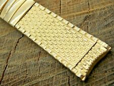 Vintage Stonewall Gold Filled Watch Band 17.5mm Curved Lug Expansion NOS Unused