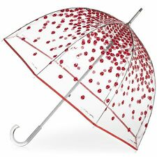 Charles/Charley Harper totes-Isotoner Bubble Umbrella Ladybugs