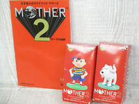MOTHER 2 Earthbound Nintendo Official Guide & Figure SFC Book 1994 SG39*
