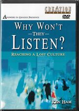 Why Won't They Listen? Reaching a Lost Culture (Dvd, 2003) Brand New Sealed!