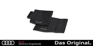 Original Audi e-tron Gummifußmatten Vorne 4KL061501  041