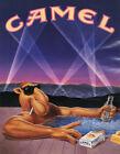 Camel Cigarette Ad 1990 Vintage Advertising Poster