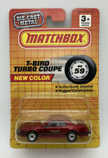 164 Vintage Matchbox 59 Ford Thunderbird T Bird Turbo Coupe Red