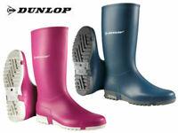 Dunlop Wellies Womens Kids Junior Waterproof Rain Muck Wellington Boots UK 12-8