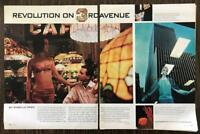 1966 Look Magazine Article Revolution on 3rd Avenue Dogs Doormen Young Sassy