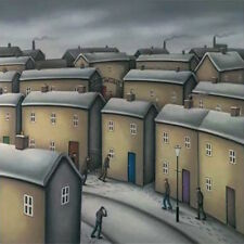 PAUL HORTON WASHINGTON GREEN ART SQUARE CARD: LIFE AND TIMES - NEW POST DAILY