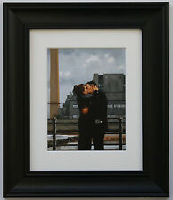 Long Time Gone by Jack Vettriano Framed & Mounted Art Print Black Frame
